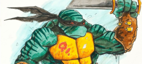 "Concept Art From Defunct Fourth TMNT Live-Action Film Reveals ""Kirby: The Fifth Turtle"""