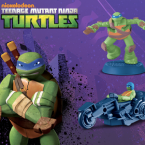 McDonald's Teenage Mutant Ninja Turtles Promotion Began 12/14